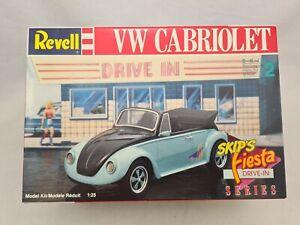 Revell 1:25 VW CABRIOLET Vintage Bausatz Inhalt unverbaut tlw versiegelt Rare N2
