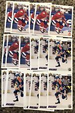 Mark Messier 1991-92 Upper Deck Hockey Canada Cup Lot (19) Edmonton Oilers