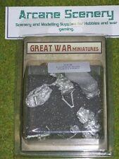 Gran guerra, miniaturas de las tierras bajas escoceses HMG 1914 28mm B108