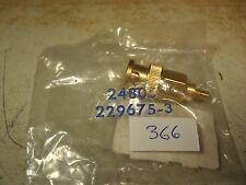Adapter, SMC Jack to BNC Male - Gold 229675-3 - NIB
