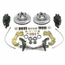 "62-67 Chevy II Nova Front Disc Brake Conversion Kit Spindles 11"" Rotors"
