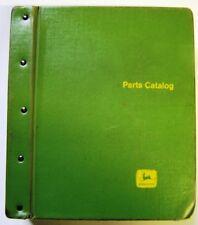 John Deere Mowers-Conditioners-Rakes Parts Manuals In Factory Binder