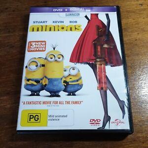 Minions DVD R4 Like New! FREE POST