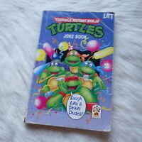 TEENAGE MUTANT NINJA TURTLES JOKE BOOK Mirage Studios 1990 Comedy Fictional Book