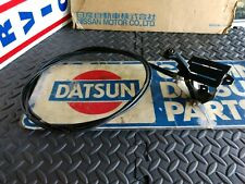 Datsun 70- 8.71  240z Series One + OEM Choke Cable Assembly w/ Lever and Knob