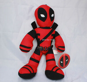 Marvel Deadpool Plush Stuffed Collectors Edition Authentic Kids Adult Toy 9""