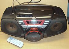 Sony Cfd-G50 Cd Radio Cassette-Corder with Power Drive Woofer Pdw w/Remote