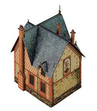 Villa Chateau Building War Games Terrain Landscape Scenery Cardboard Model Kit