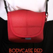 MATIN Neoprene DSLR SLR RF Mirrorless Camera Soft Body Case Pouch Bag (M/Red)