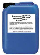 (4.-/l) Preiswert-Aquaristik 5L Wasseraufbereiter Gartenteich 100000 Liter Koi