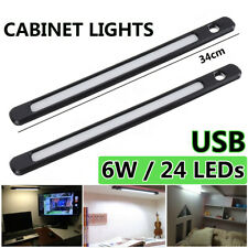 24 LED 5V 6W USB LED Strip Bar Light Desk Table Lamp Night Light Magnet