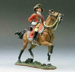 King & Country BR033 American Revolution Mounted British General Cornwallis New