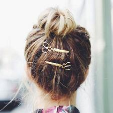 1 Pc Lady Scissors Shape Hair Clip Barrettes Hairpin Decorations Accessorie WO