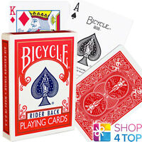 BICYCLE RIDER BACK 808 PLAYING CARDS DECK RED RETRO BOX STANDARD INDEX NEW