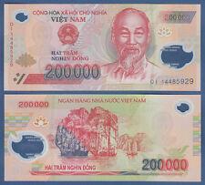 VIETNAM / VIET-NAM 200.000 Dong (20)14 Polymer  UNC  P.123g