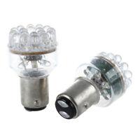 2x 1157 BAY15D P21/5W 380 24 Led White Car Brake Tail Stop Rear Light Lamp Bulbs