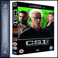 CSI - CRIME SCENE INVESTIGATION - COMPLETE SEASON 14 **BRAND NEW DVD**