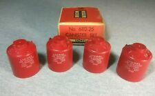 Lionel O Gauge No.6112-25 Canister Set in Original Box ~ TS