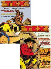 Tex  albo d'oro  2° serie  ristampa di 34 albi
