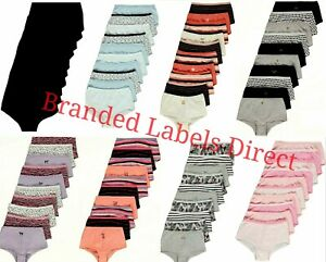 GIRLS UNDERWEAR SHORTS KNICKERS COTTON 10 PACK AGE 4-16 YEARS