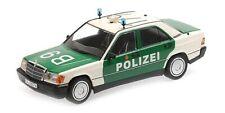 Mercedes-Benz 190E (W201) 'Polizei Germany' 1982 - 1:18 - Minichamps