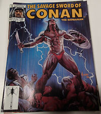 SAVAGE SWORD of CONAN the Barbarian Vol. 1 #138 Marvel Magazine Group July 1987