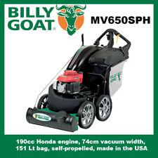 Billy Goat MV650SPH Self Propelled Leaf Vacuum - hose kit sold separately