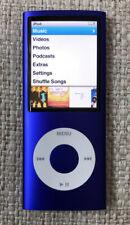 Apple Ipod Nano 4th Generation 8GB Model A1285 Purple Works Has Music