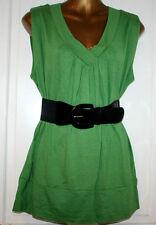 No Pattern Stretch Blouse Plus Size for Women