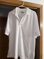 Jack Nicklaus White, Size Large, Performance 18 Golf Shirt