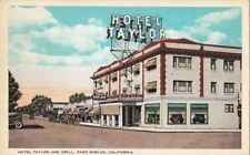 Postcard Hotel Taylor + Grill Paso Robles CA