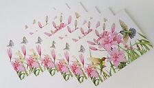 Kathy Rusynyk Hummingbirds Blank Greeting Cards Set Lot 6