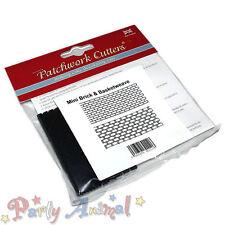 Patchwork cutters-mini Muratura in mattoni & Basketweave goffratrici