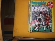 INTREPIDO SPORT=N°16 1984=POSTER ROMA 83/84-JUVE 83/84=PLATINI FALCAO=E.RUGGERI