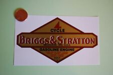 Briggs & Stratton decal old repro 1949-62 LARGE