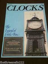 CLOCKS - THE LEGEND OF LITTLE BEN - MARCH 1982
