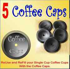 Coffee Caps Reuse And Refill The Keurig® K-Cup® packs Now works with 2.0 brewers