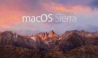 "macOS Sierra 10.12.6 Hard Drive 2.5"" Macbook Pro, Mac Mini 250GB  A1278 A1286"