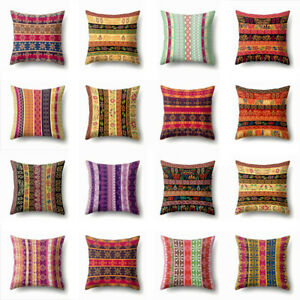 """18""""*18"""" Polyester Ethnic Throw Pillow Cover Geometric Decorative Pillow Cases"""