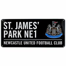 Newcastle United Colour Street Sign New Home Pub Garage Decoration Gift Birthday