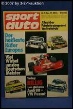 Sport Auto 11/73 VW 914 1,8 Fiat X 1/9 Audi 80 + Poster