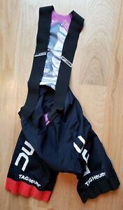 Assos men's Bib Shorts L Large ST.Equipe Racing fit BMC logo EUC