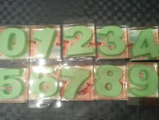 Stampo forma silicone 10 numeri cake design dolce moule chiffre silikon ziffer