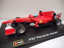 Voitures Formule 1 miniatures sur Fernando Alonso
