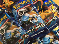 Pokemon TCG XY Evolutions Sealed Booster Packs (10 Additional Game Cards)