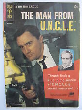 The Man from U.N.C.L.E. #3 (Nov 1965, Gold Key / Western) [VG/FN 5.0]