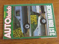 $$$ Revue Auto hebdo N°426 Alfa Romeo 90Mitsubishi ColtF1 PiquetEspace