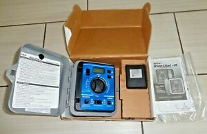 NEW Irritrol Rain Dial RD600-INT-R 6 Station Indoor Irrigation Controller