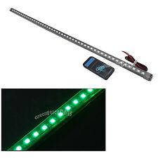 56cm LED Waterproof Flash Car Knight Rider Strip Lights w/Remote Green US Stock