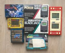 Lot Jeux électroniques Game & Watch LCD Lansay Bandai Electronics Gakken Tandy